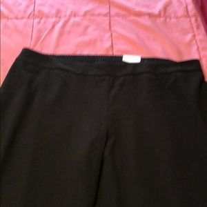 Cold water creek natural fit pants.  Wide leg.